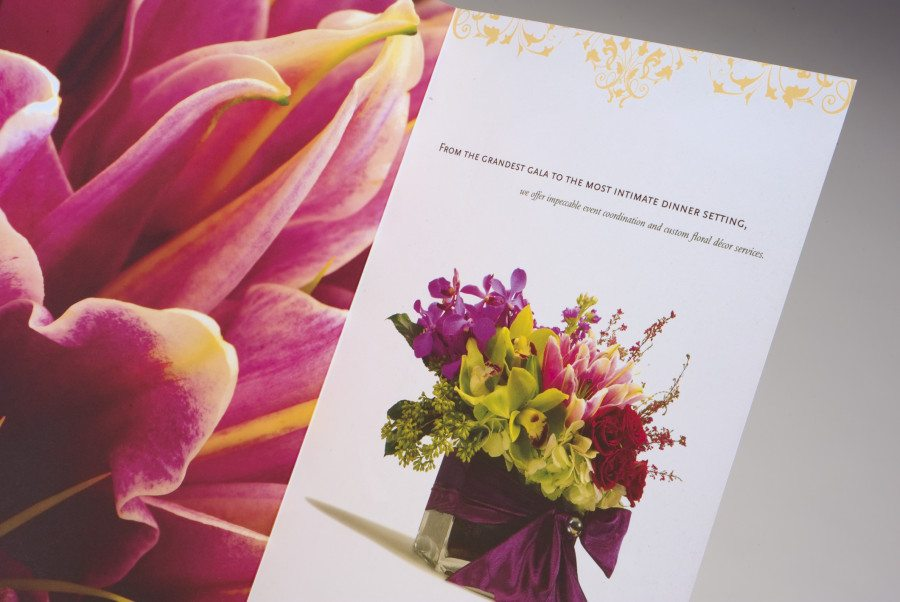 Flower Studio Brochure