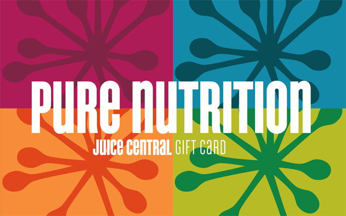 Juice Central Gift Card Desgin