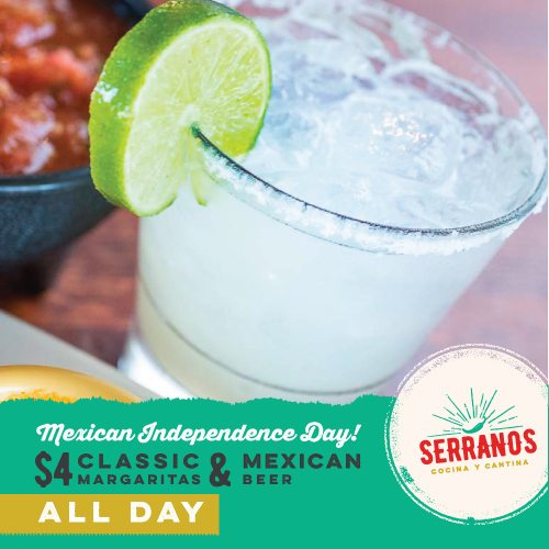 Serranos Ad Design (IndependenceDay)