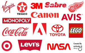 brand colors red