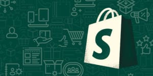 Shopify tips and tricks on forest green background